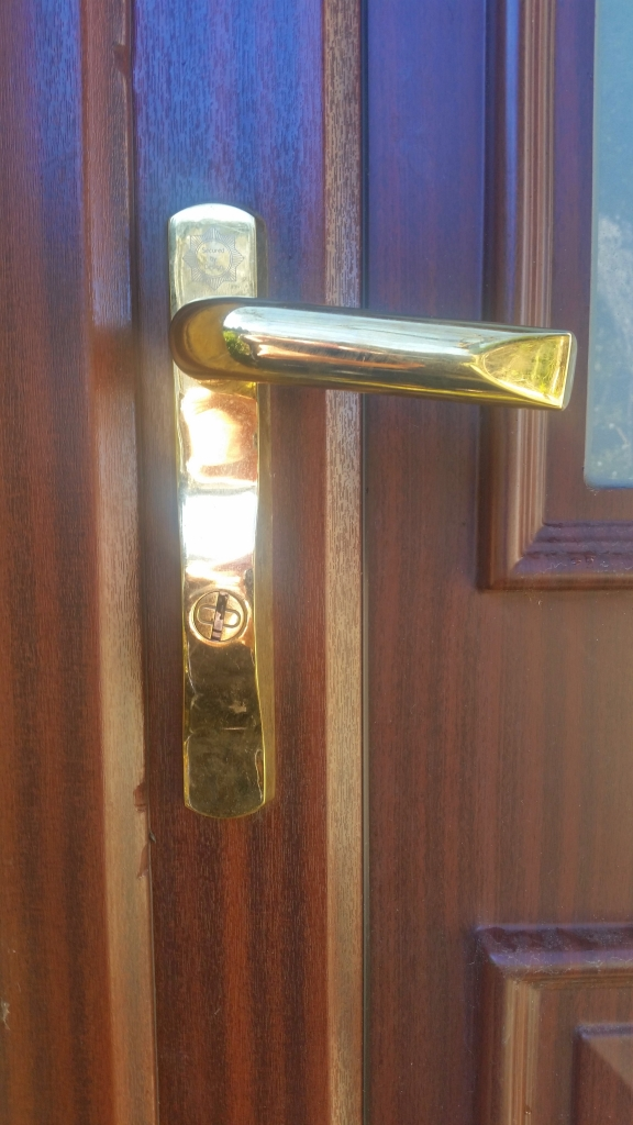Tricky lock for Bradford locksmiths, home security, burglar, PAS 24 handles, security handles, upvc handles, HOPPE handles,